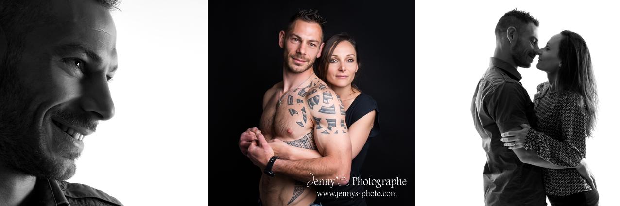 portrait studio couple amis photographe spécialisée photo femme homme toulouse bessieres montauban gaillac albi elevage