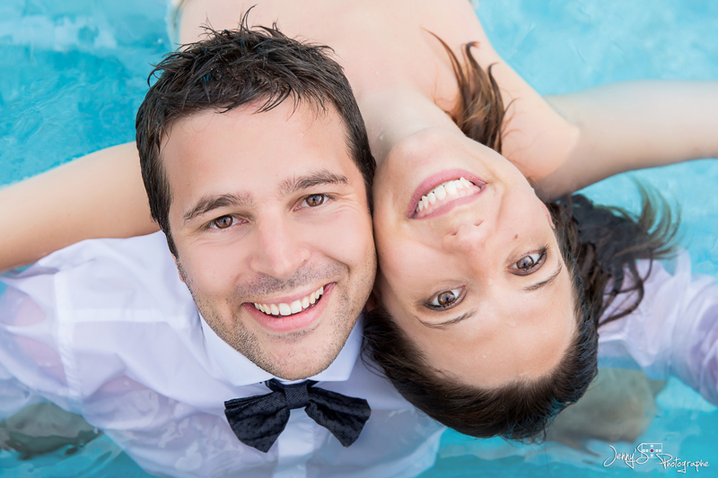 Trash the dress jenny 39 s photographe for Amour dans piscine